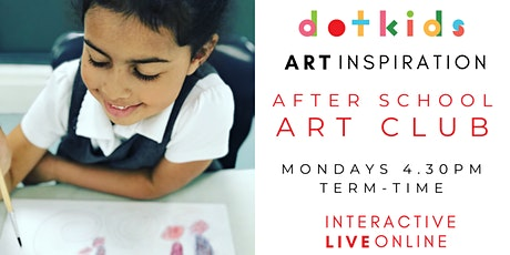 After School Art Club: Interactive, Live & Online tickets