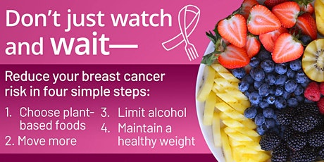 Let's Beat Breast Cancer - Cooking Class 1- Intro to How Foods Fight Cancer tickets