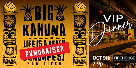 BIG Kahuna VIP Dinner tickets