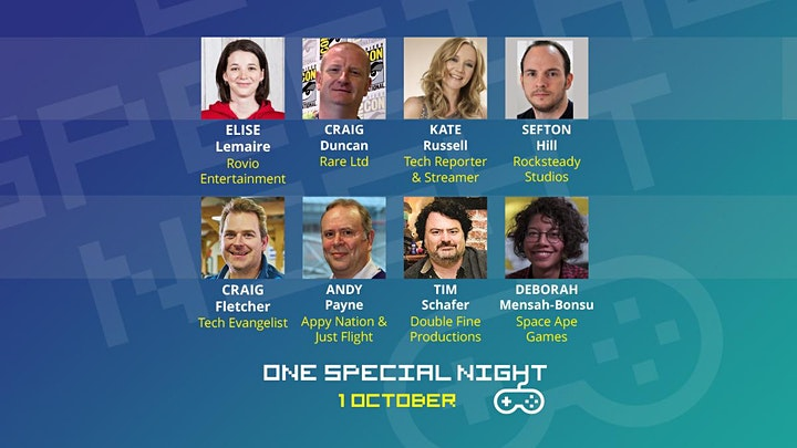 One Special Night; fundraising for SpecialEffect image