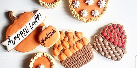 Introduction to Sugar Cookie Decorating Class- Fall/Thanksgiving edition tickets