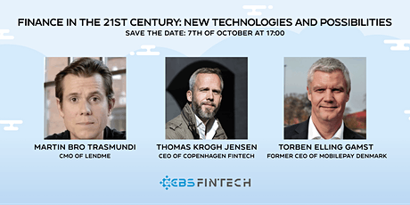 Finance in the 21st Century: New Technologies and Possibilities tickets