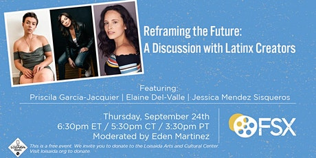 Reframing the Future: A Discussion with Latinx Creators tickets