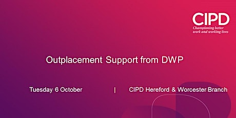 Outplacement Support from DWP tickets