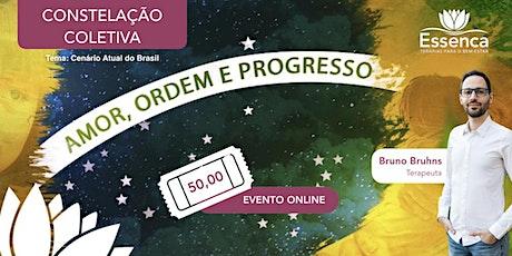 Cenário Atual do Brasil - Constelação Coletiva ONLINE ingressos