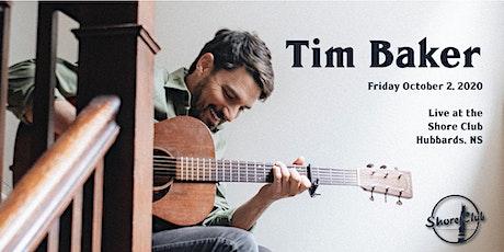 Tim Baker tickets