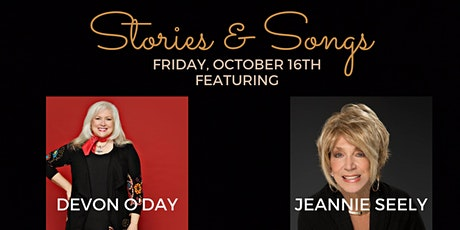 Stories & Songs: Devon O'Day with Jeannie Seely tickets