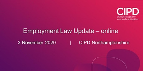 Employment Law Update (Evening session) tickets