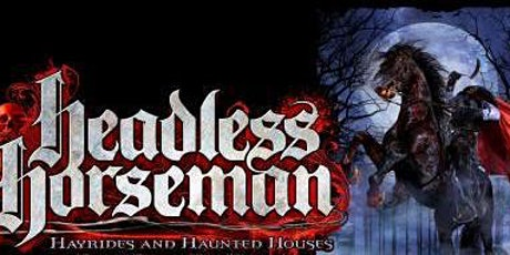 Headless Horseman Hayride, Pumpkin Picking, Dinner -Day Trip ONLY tickets
