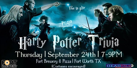 Harry Potter Trivia Night at Fort Brewery & Pizza! tickets