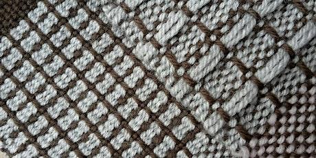 Weaving Patterns Using Pick-Up Sticks tickets
