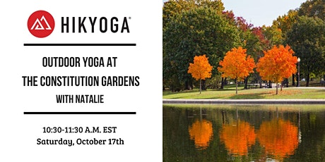 Constitution Gardens Outdoor Yoga with Hikyoga® DC tickets