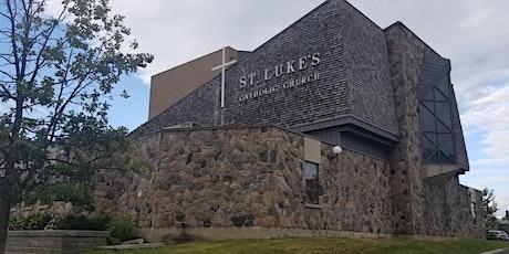 Register for Sunday Mass at St. Luke's Parish R.C. tickets