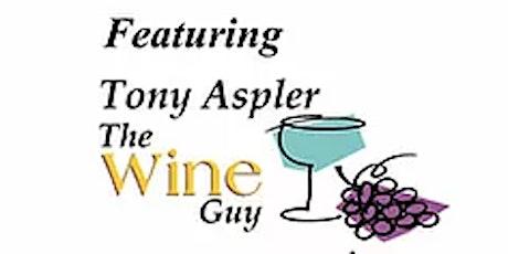 Virtual Wine Tasting Event With Tony Aspler for Brain Injury Association QD tickets