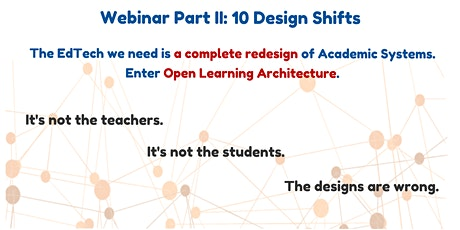 Webinar Part II: 10 Design Shifts tickets
