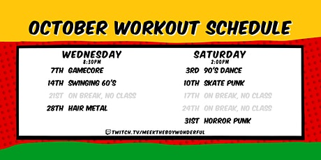 Beginner Aerobic & Body Weight Workout From Home tickets