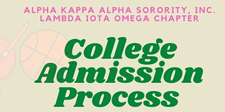 College Admission Process (#CAP) Kickoff tickets