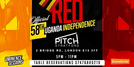OFFICIAL 58TH UGANDA INDEPENDENCE CELEBRATION AT PITCH STRATFORD tickets