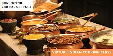 Indian Cooking Masterclass - Chana Masala, Gobi Aloo, Mango Lassi and More! tickets