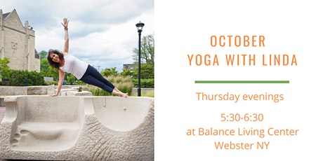 October Yoga with Linda tickets