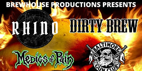 Rhino and Dirty Brew plus supports tickets