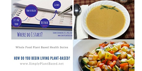 Whole Food Plant Based Health Series - How Do You Begin Living Plant-Based? tickets