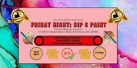 Friday Night: Sip & Paint tickets