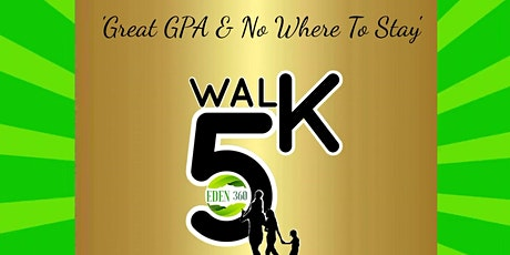 'Great G.P.A. & No Where To Stay 5K Walk to End Youth Homelessness tickets