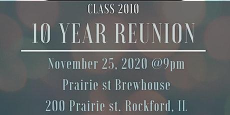 Auburn 2010 Class Reunion - 10 year tickets