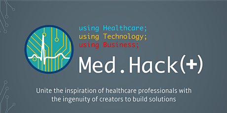 Med.Hack(+) 2020 - Virtual Hackathon tickets