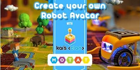 Create your own Robot Avatar with Kai's Clan tickets
