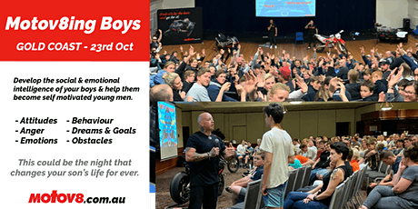 Motov8ing Boys - Gold Coast tickets
