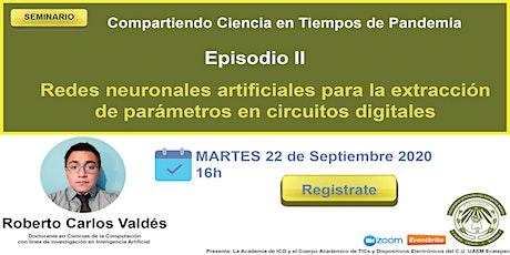 Seminario Compartiendo Ciencia en Tiempos de Pandemia. EPISODIO II entradas