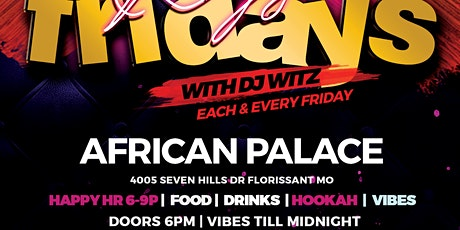 FRIDAY NIGHT REGGAE AT AFRICAN PALACE tickets