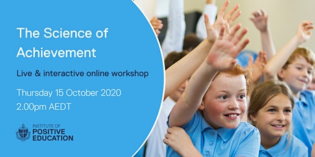 The Science of Achievement Online Workshop (October 2020) tickets