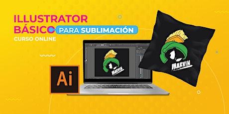 Curso Online - Illustrator básico para sublimación - USA tickets