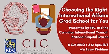 Choosing the Right International Affairs Grad School for You tickets