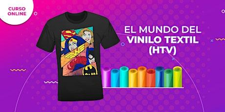 Curso Online - El Mundo del Vinilo Textil (HTV)  - USA tickets