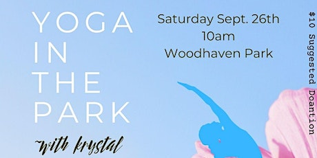 Yoga in the Park with Krystal tickets