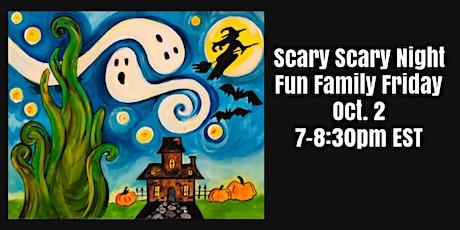 Halloween Family Fun Online Art Party tickets