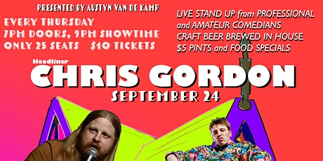 Comedy on Mill St. featuring Chris Gordon tickets