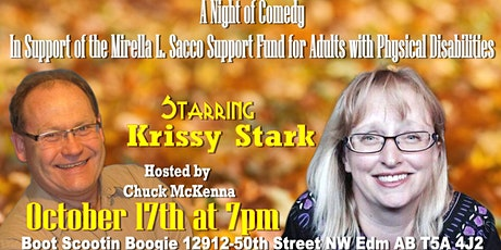 A Night of Comedy. In support of tickets