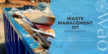 Waste Management 101 - Construction Sector tickets