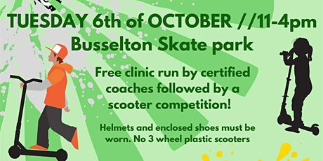 City of Busselton - Scooter competition - 6th October tickets