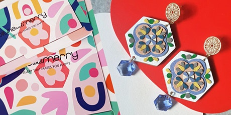 Craft your own Peranakan-Style Earrings with Blithe & Merry