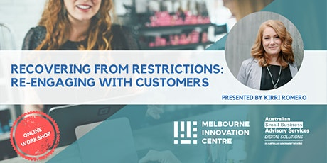 BRP: Recovering from Restrictions: Re-engaging with Customers tickets