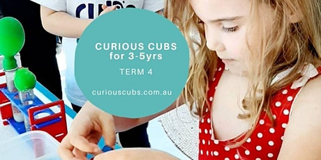 Curious Cubs for 3-5yrs (5 week program) tickets