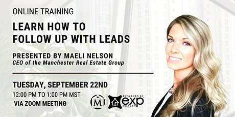 Learn How to Follow Up with Leads tickets