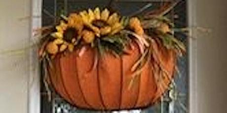 Make your own 3D Fall Pumpkin Wreath tickets