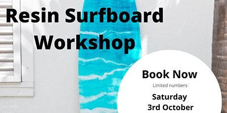Resin Surfboard Workshop tickets
